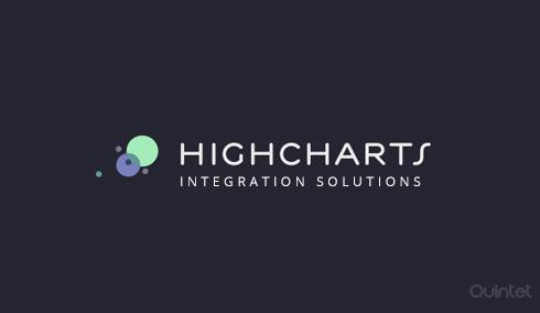 High Charts Integration | Web development | Quintet