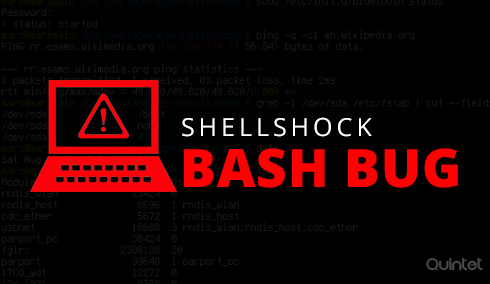 fix shellshock vulnerability